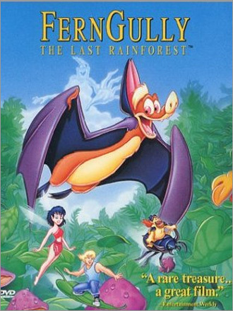 Fox, FernGully…The last rainforest, risalente al 1992.