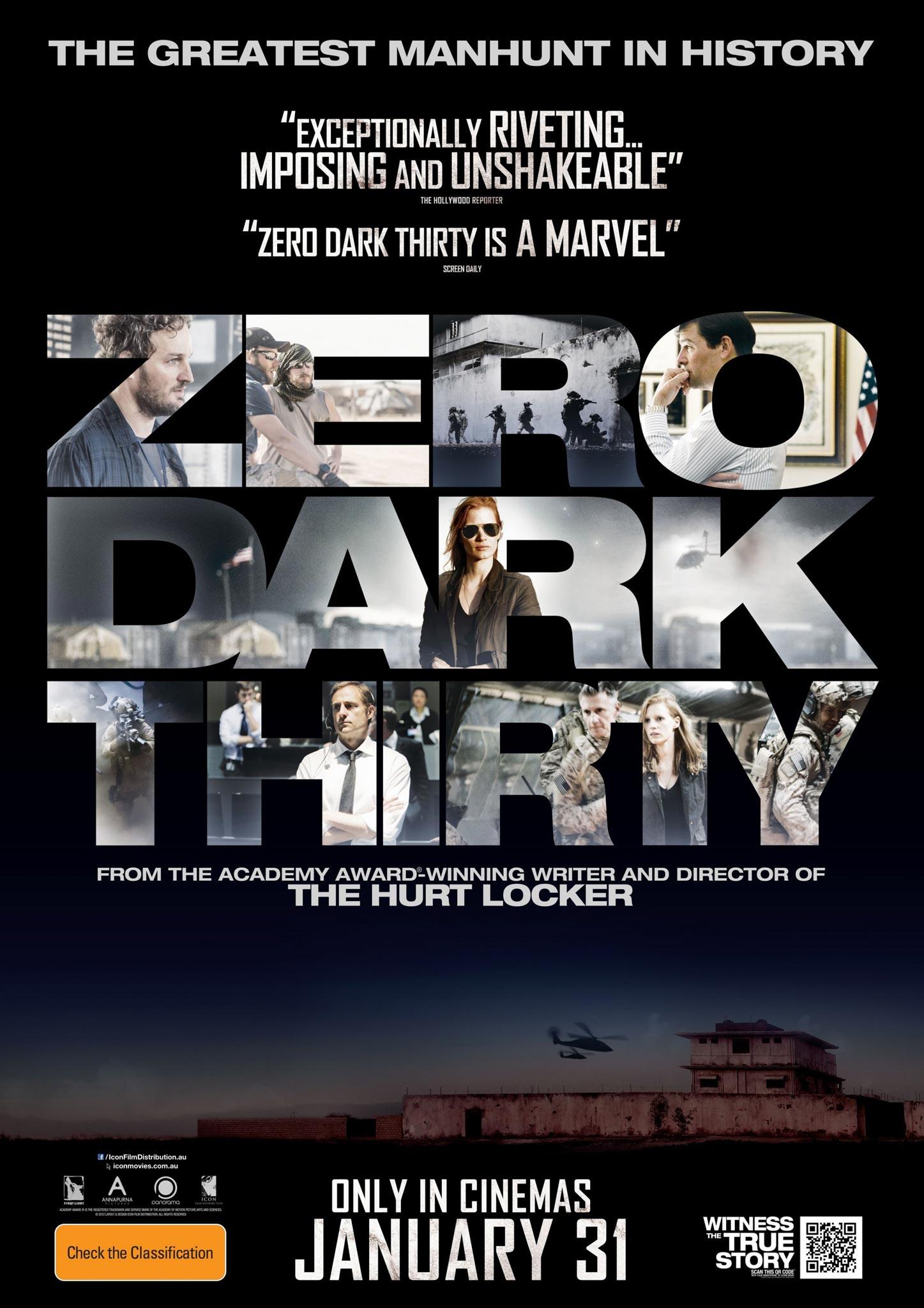 Zero Dark Thirty 2012 movie